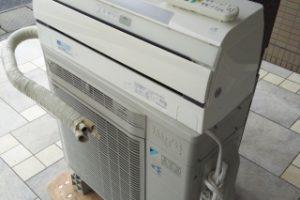エアコン回収処分